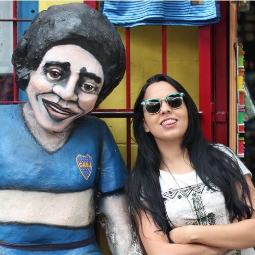 Acsa Lima e Maradona - Espanhol Sem Fronteiras