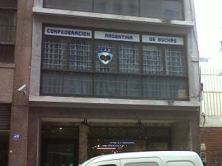 Confederación Argentina de Bochas (!) Das para todo, Buenos Aires!