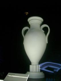 Copa de Europa digna de un museo clásico. De estas el Madrid tiene varias...