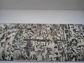 Me hizo acordar a Picasso y su Guernica