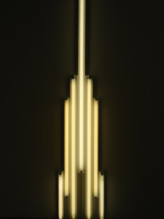 Rascacielos fluorescente