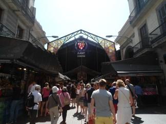 Mercado de la Boquería, célebre
