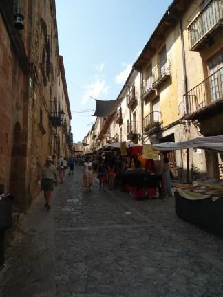 Ferias con motivo de las Fiestas Medievales