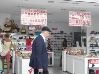 Las rebajas también llegaron a Gibraltar
