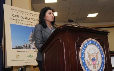 El Foro del Capitolio habla sobre el Rol de la Mujer Musulmana en la Construcción de Paz