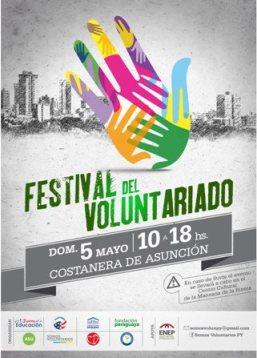 FPG fue representado en el 3er. Festival de Voluntariado 2013 en Paraguay