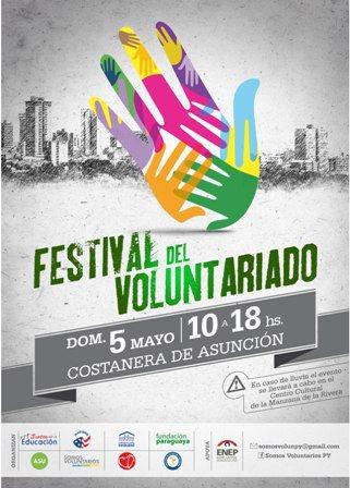 FPG estuvo presente en el Tercer Festival de Voluntariado 2013 en Paraguay