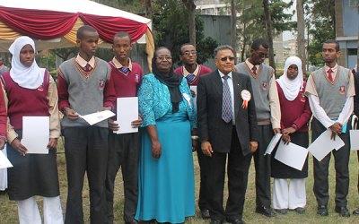 Iniciativa de Competencia del Carácter de FPG Reconocido por las Escuelas de Secundaria de Nairobi