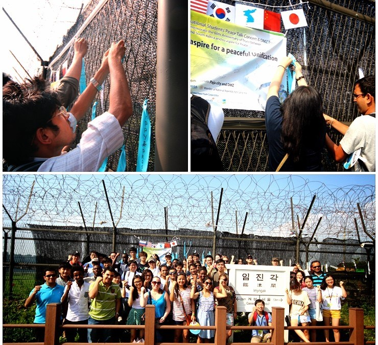 Estudiantes Coreanos e Internacionales Comparten el Sueño Común de la Unificación Coreana