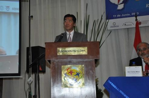 """Discurso del Dr. Hyun Jin Nim durante la Conferencia Internacional """"Gobernanza, Ética y Desarrollo"""" Asunción, Paraguay, 11 de junio de 2013"""