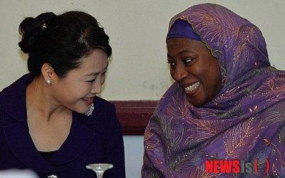 Discurso de la Sra. Hajiya Amina Sambo, esposa del Vicepresidente de la República Federal de Nigeria, Banquete de Bienvenida