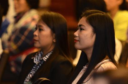 participantes del panel de GPW durante la Convención Paz Global 2017 en Manila