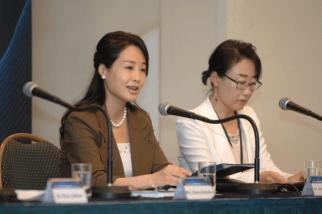 Dra. Moon habla en la Conferencia de Liderazgo Paz Global 2012