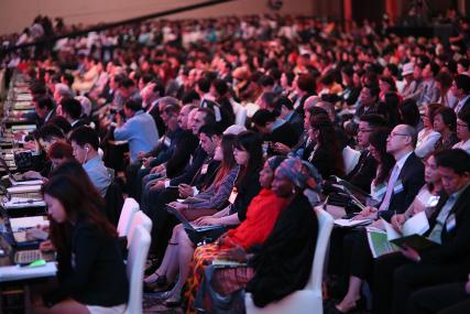 Los participantes representaron 40 países
