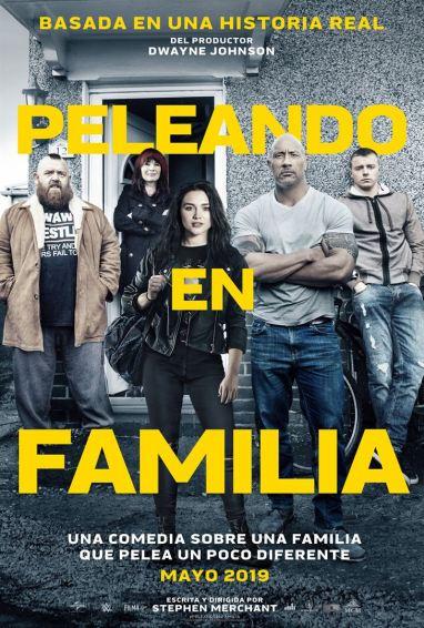 Peleando en familia Poster
