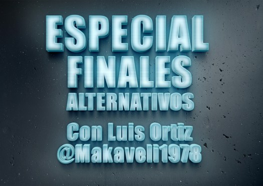Especial Finales Alternativos cartel