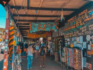 Locales comerciales en el centro de Nimbin