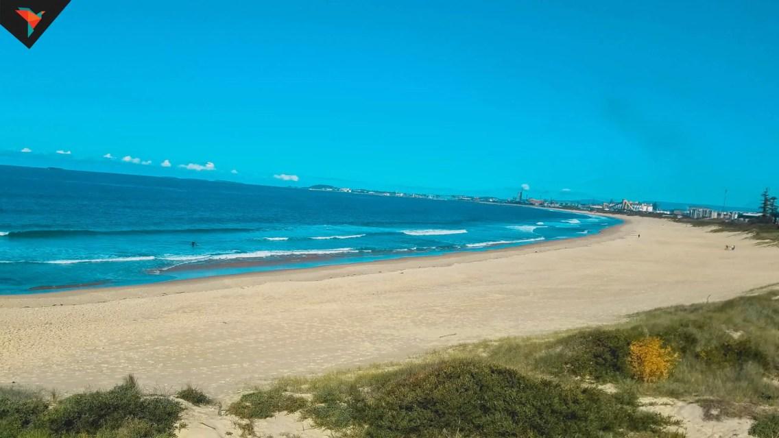 Vistas a la playa de Wollongong