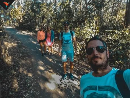 Siguiendo el sendero con amigos