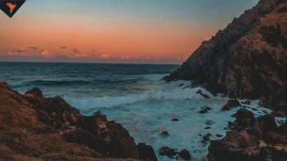 Atardecer desde el Cabo Byron