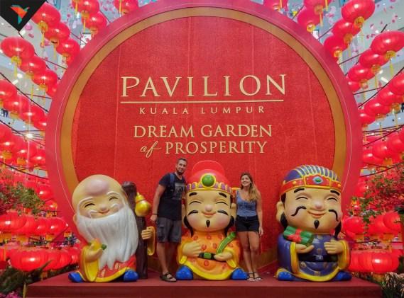 Pavilion en Año nuevo chino