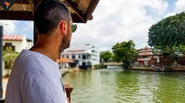 Contemplando la belleza de Melaka