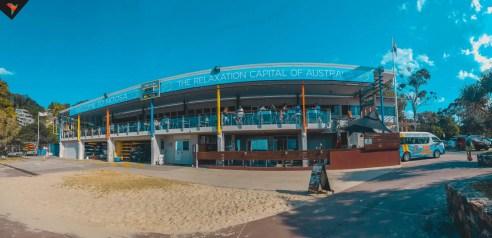 El pavilion en Main Beach