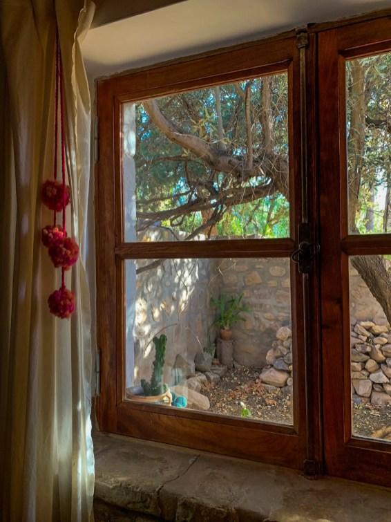 Nuestra habitación en La Casa del Indio, Tilcara
