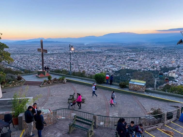 La cima del Cerro San Bernardo