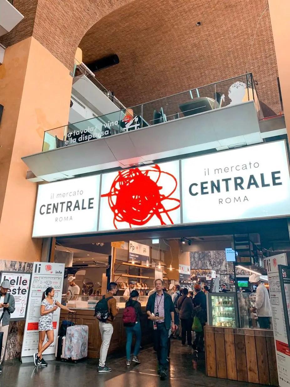 Mercato Centrale en Roma