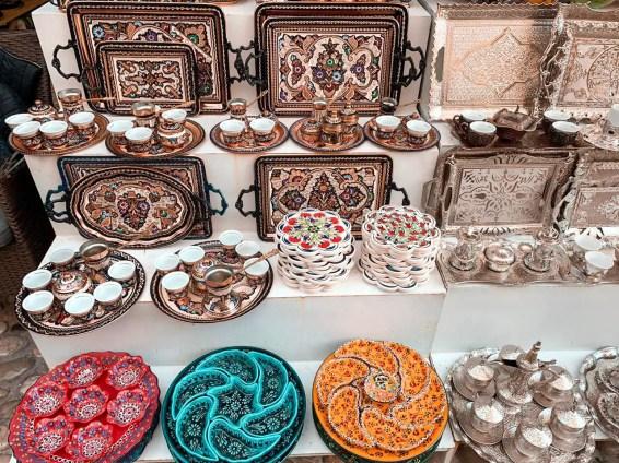 Artesanias en el Bazar de Mostar