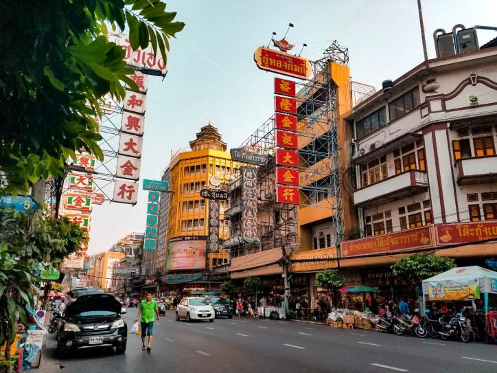 Chinatown Bangkok calle principal