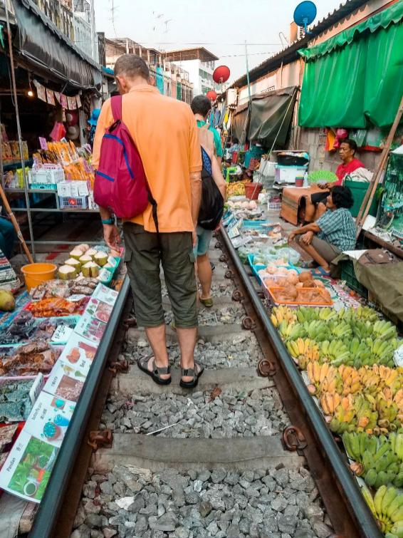 Train Market Bangkok