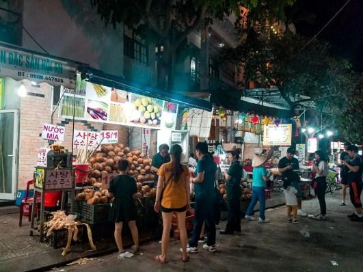 Puestos en el Hoi An Night Market
