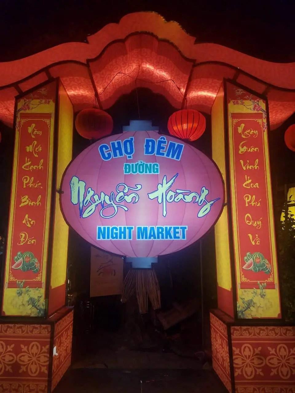 Night Market Hoi A