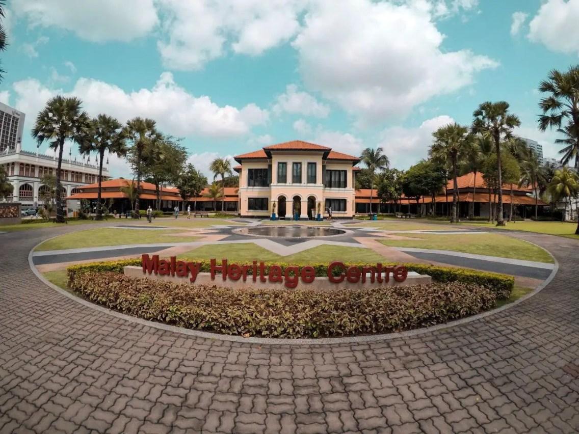 Palacio del Sultán singapur