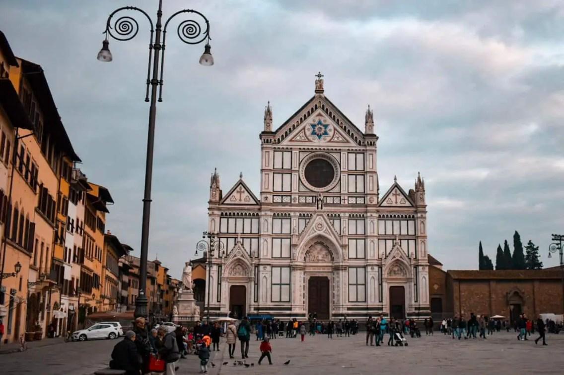 Basilica de Santa Croce, que ver en Florencia