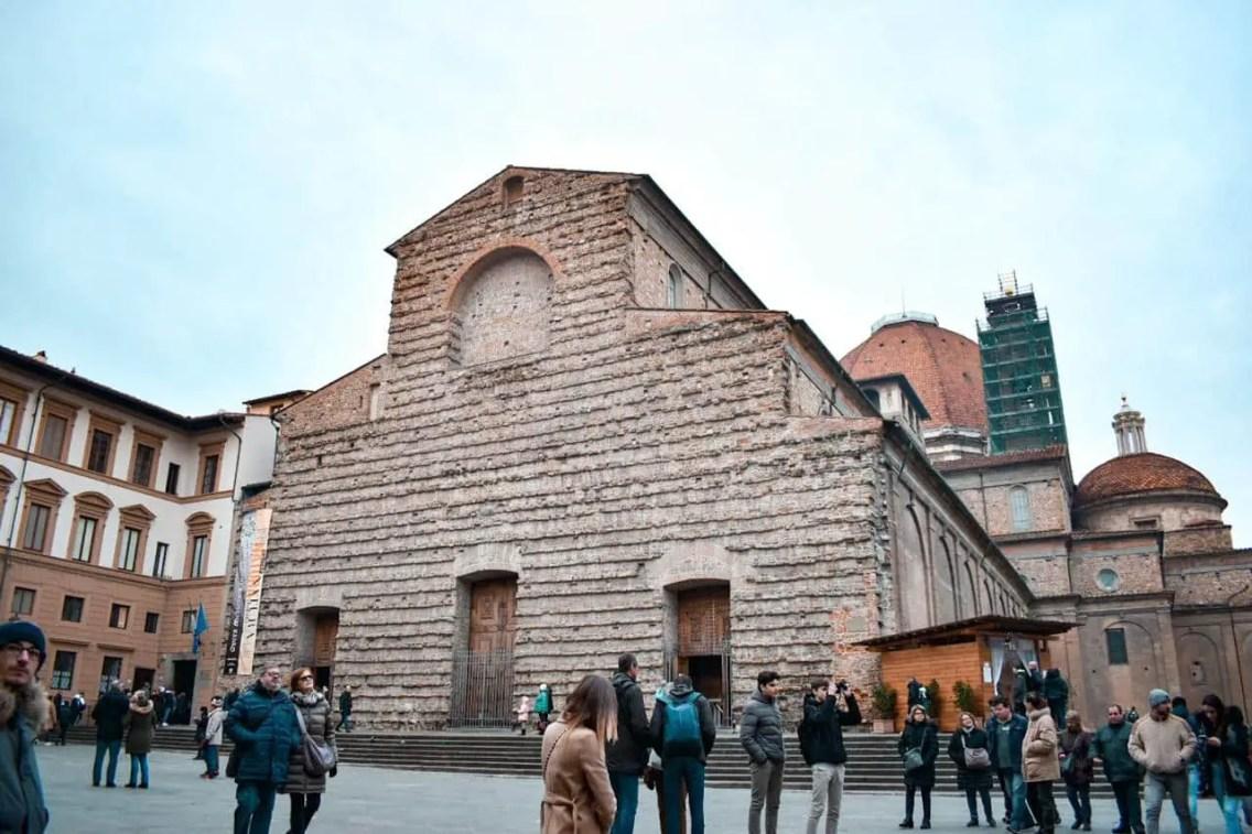 Basilica San Lorenzo, que ver en Florencia