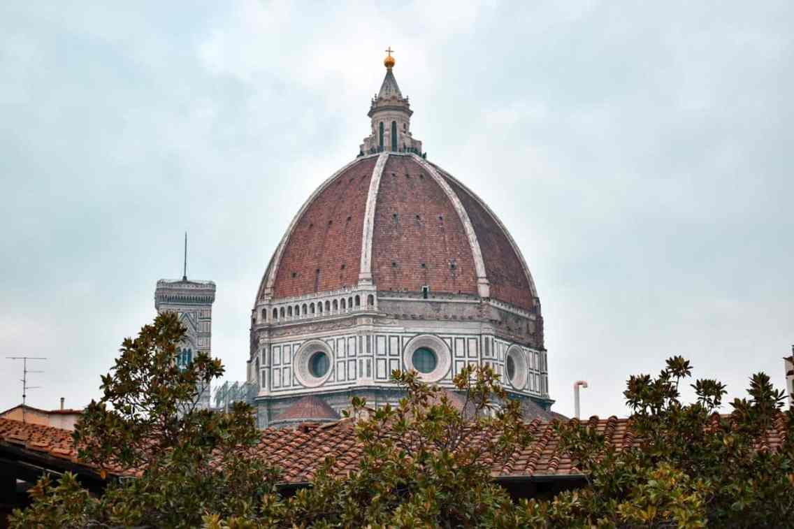 Cupula de Brunelleschi en Florencia