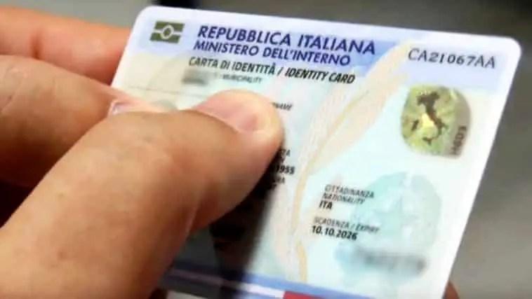 carta de identidad