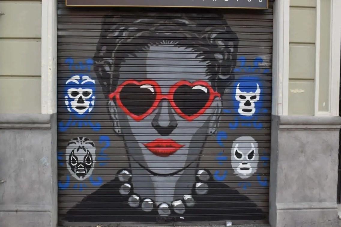 street art en Gracia Barceloan