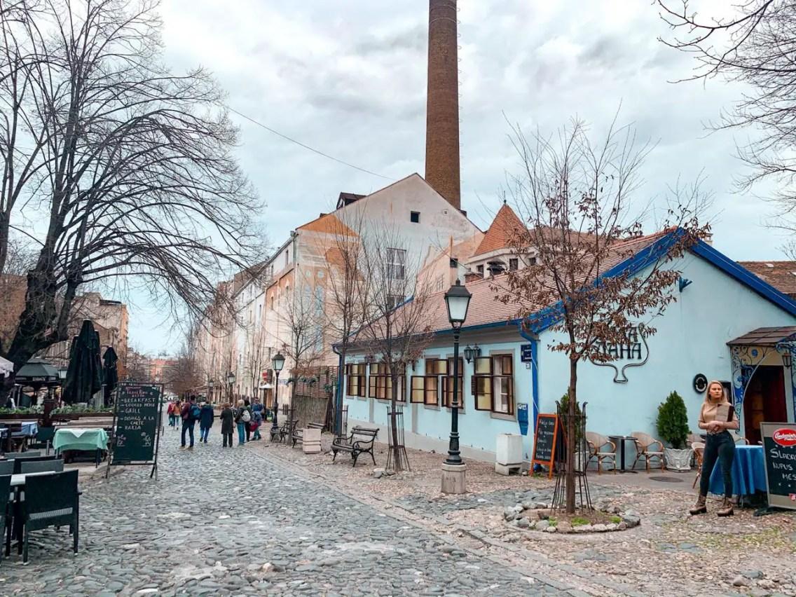 Skadarlija, Belgrado