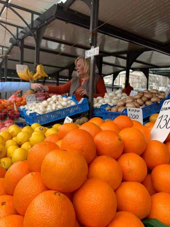 "Farmer's market ""Zeleni venac"""