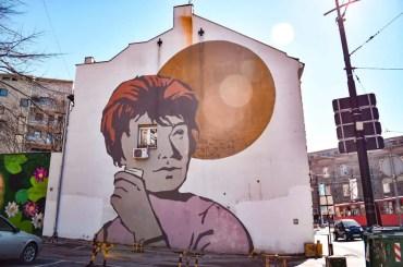 Street Art Belgrado