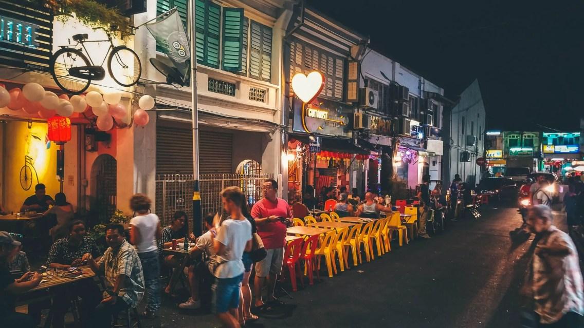 Noche en Penang