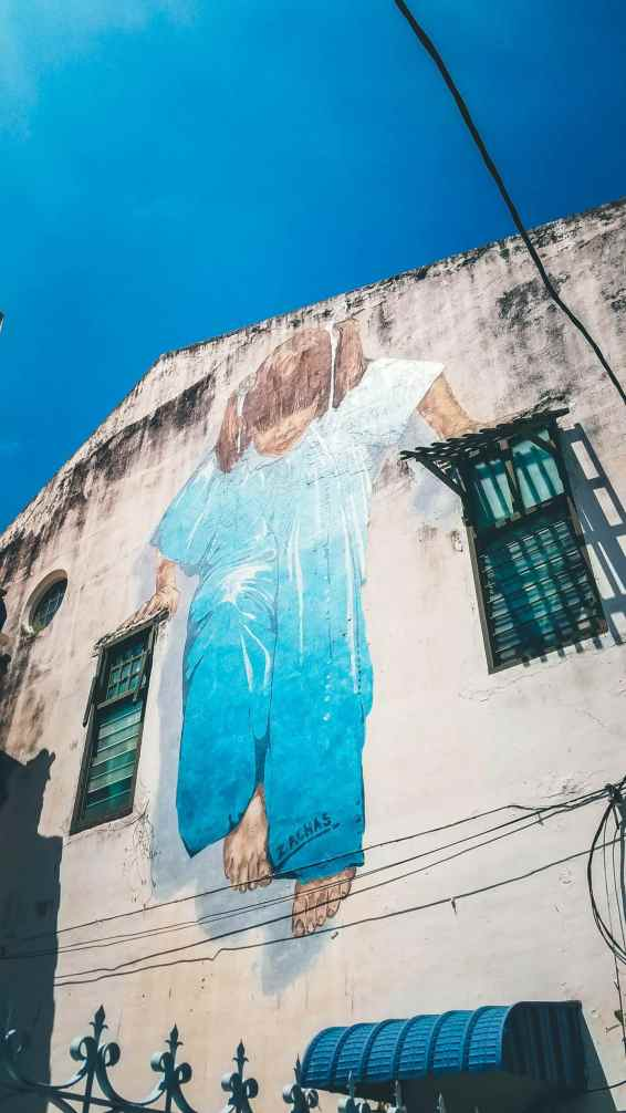 Street art en Penang