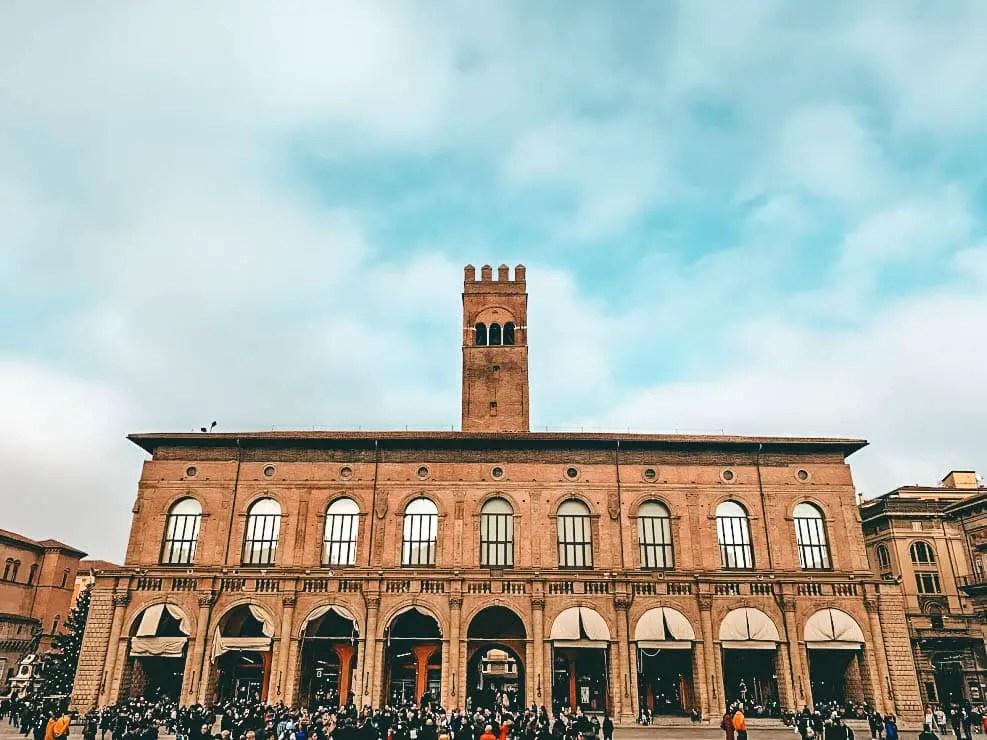 Piazza Maggiore en Bologna