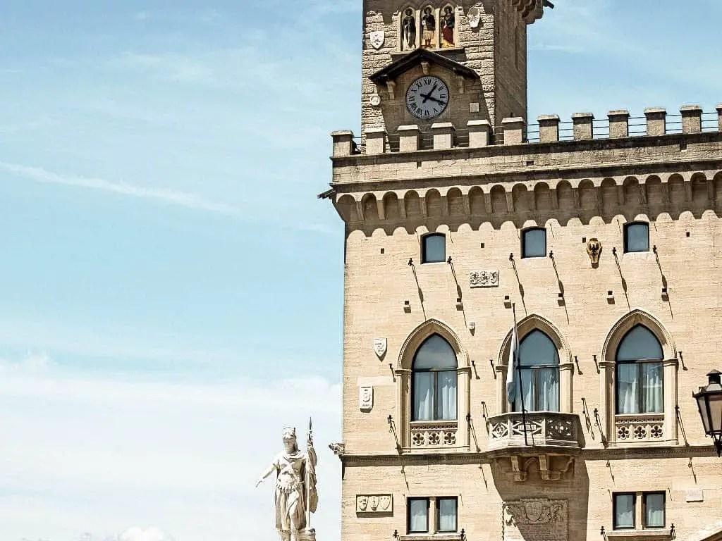 Piazza della Liberta - San Marino