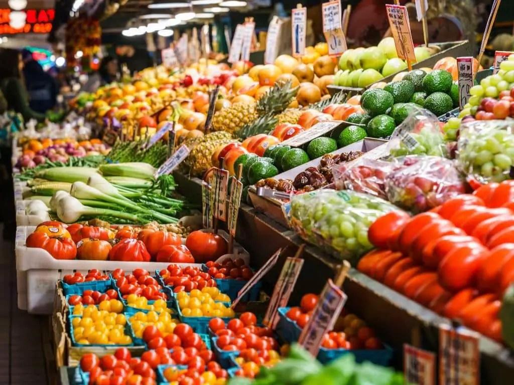 paddy market en sydney frutas y verduras