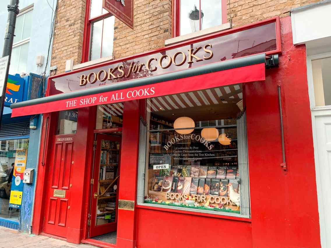 Books for Cooks - Notting Hill
